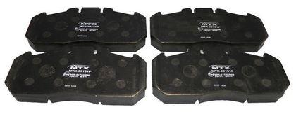 Тормозные колодки для SAF OS SKRB/3682