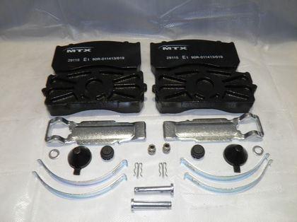 Тормозные колодки для MB ATEGO 98-2004,  /3691