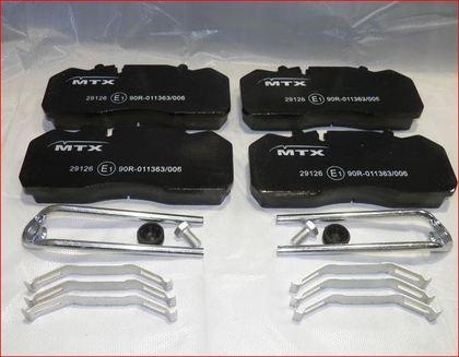 Тормозные колодки для IV.E-CARGO, RVI MIDLI.91-/3690