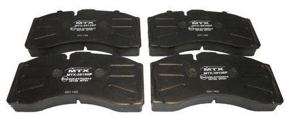 Тормозные колодки для SAF OS SKRB 9022K/3696