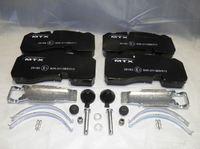 Тормозные колодки для BPW ECO MAXX, PLUS 98-/3697 BPW