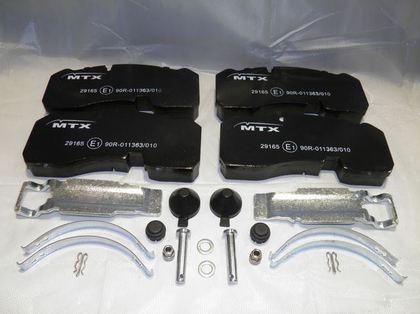 Тормозные колодки для BPW ECO MAXX, PLUS 98-/3697