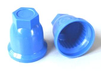Защитный колпачок на гайки синего цвета/4122