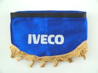Шторки на лобовое+боковые стекла Ивеко цвет бордовый/4191 IVECO