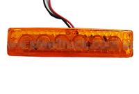 Габаритный фонарь LED 12/24 вольта желтый/5032