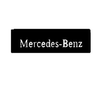 Брызговик (объемный текст) 600х200 MERCEDES передний/523/10-041
