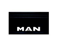 Брызговик надпись MAN(объемная) комплект 570х350 /579 MAN