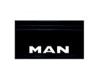 Брызговик надпись MAN(объемная) комплект 570х350 /579