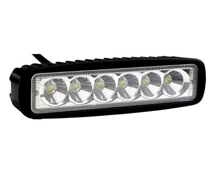 Фара дополнительного света Allpin 18W, 6 светодиодов по 3W Epistar (6193S18)
