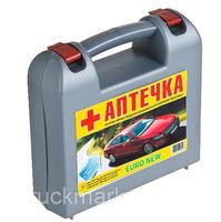 Аптечка EURO-NEW с охложд.контейнером /серая/Ш-КОД/6259