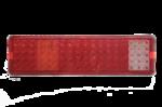 Задний фонарь LED 90 для грузовика, прицепа, полуприцепа, металл.основа (6552)