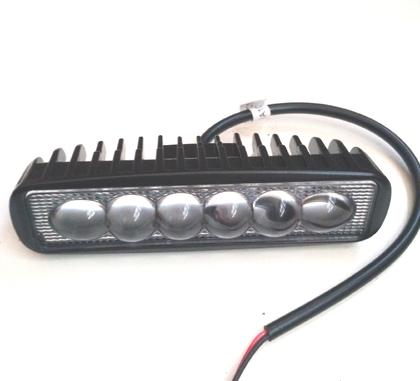 Led фара дополнительного света, ходовые огни 18 Вт Spot линза/6749