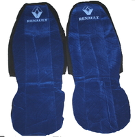 Чехлы на сиденья Рено синие для грузовиков(6791)