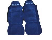 Чехлы на сидение Daf синие для грузовиков (6792)