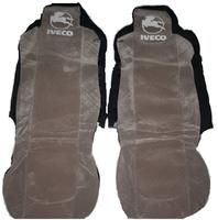 Чехлы на сидение Iveco серые для грузовиков(6796) IVECO