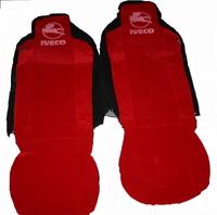 Чехлы на сидение Iveco красные для грузовиков(6797) IVECO