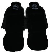 Чехлы на сидение Iveco чорные для грузовиков(6798) VOLVO