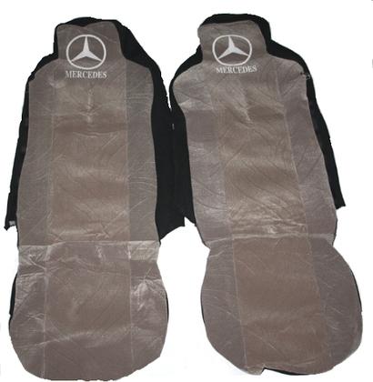 Чехлы на сидение Mercedes серые для грузовиков(6803)