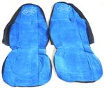 Чехлы на сиденья ВОЛЬВО синие для грузовиков(6806)