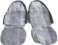 Чехлы на сиденья ВОЛЬВО серые для грузовиков(6807) VOLVO