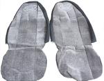 Чехлы на сиденья ВОЛЬВО серые для грузовиков(6807)