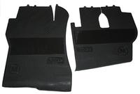 Коврики в салон Actros чорные для грузовиков(6822) MERCEDES-BENZ