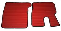 Коврики Daf XF 106 красные для грузовиков(6834) DAF