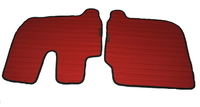 Коврики в салон Iveco красные для грузовиков(6835) IVECO