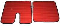 Коврики Man TGX красные для грузовиков(6839) MAN