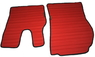 Коврики Scania 2013+ красные для грузовиков(6844)
