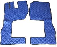 Коврики Volvo 2009 - 2013 синие из 3-х частей для грузовиков(6848) VOLVO