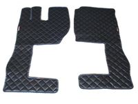 Коврики Volvo 2009 - 2013 черные из 3-х частей для грузовиков(6849) VOLVO