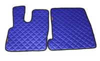 Коврики Daf XF 106 синие из 3-х частей для грузовиков(6854) DAF