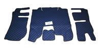 Коврики в салон Scania 2013+ синие (еко кожа) для грузовиков(6861) SCANIA