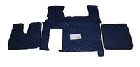 Коврики в салон Man TGX синие (еко кожа) для грузовиков(6872) MAN
