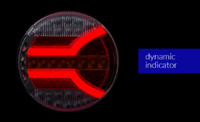 Задний комбинированный фонарь NAVIA LZD 2342(6879)