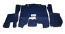 Коврики в салон Scania 2009-2013 синие (еко кожа) для грузовиков(6883)