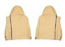 Чехлы на сидения DAF XF95, XF105 до 2012г, бежевые(6895)