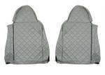Чехлы на сидения DAF XF95, XF105 до 2012г, серые(6899)