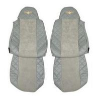 Чехлы на сидения DAF XF95, XF105 до 2012г, серые(6899) DAF
