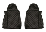 Чехлы на сидения DAF XF95, XF105 до 2012г, черные(6901)