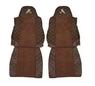 Чехлы на сидения MAN TGA,TGL,TGM после 1999г, коричневые(6902)