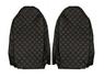 Чехлы на сидения MAN TGX, черные(6904)