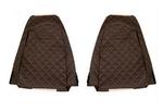 Чехлы на сидения RENAULT MAGNUM 2002-2012г, коричневобежевые (6906)