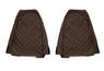 Чехлы на сидения VOLVO FH 2001-2012г, коричневобежевые(6947)