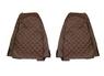 Чехлы на сидения RENAULT MAGNUM 2002-2012г, коричневые, (6907)