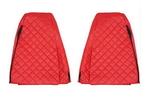 Чехлы на сидения RENAULT MAGNUM 2002-2012г, красные (6908)