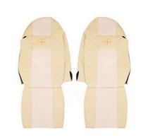 """Чехлы на сидения MERCEDES ACTROS """"2"""" 2003-2008г, бежевые (по одному вырезу на каждой спинке сидения)(6912) MERCEDES-BENZ"""