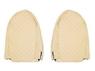 """Чехлы на сидения MERCEDES ACTROS """"3"""" 2008-2012г, бежевые (по два выреза на каждой спинке сидения)(6913)"""