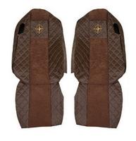 """Чехлы на сидения MERCEDES ACTROS """"4"""" после 2011г, коричневые(6917) MERCEDES-BENZ"""